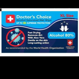 Αλκοολούχο- υγρομάντηλο -80% - ιατρικό -διάλυμα - οινοπνεύματος